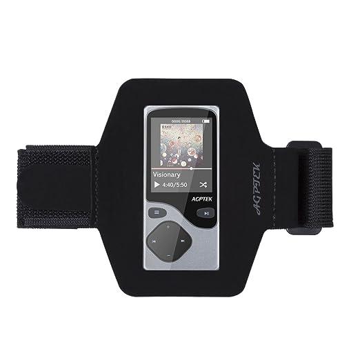 11 opinioni per AGPTek Fascia da Braccio che mantiene AGPTek A06 MP3 lettore, Nero.