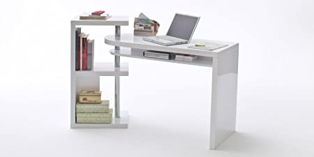 Moebella Mesa de Oficina Escritorio Mattis PC Muebles Mesa Blanco ...