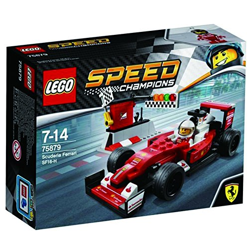 2017 LEGO 75879 Speed Champions Scuderia Ferrari SF16-H](Red Car Lego)