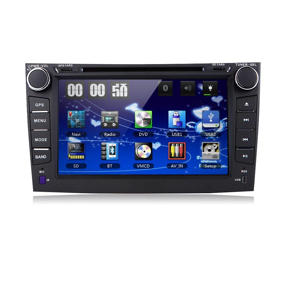 For Toyota Corolla 2007 – 2011車DVDプレーヤー8インチタッチスクリーンGPSステレオIphone音楽/AM FMラジオ/SWC/Bluetooth/3g/av-in B0773GW141