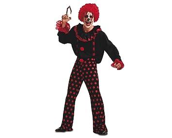 My Other Me - Disfraz de payaso diabólico, para adultos, talla ML (Viving Costumes MOM00268)