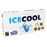Brain Games - ICECOOL Award-Winning Family Board Game - A Fast & Fun Penguin Flicking Game - Ideal For Parties & Families with Kids, Teenagers & Adults