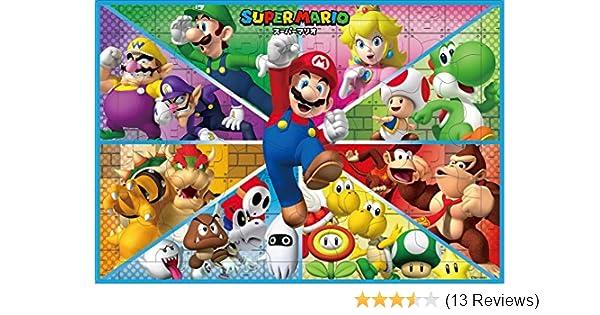 Super Mario picture puzzle 35 piece children/'s jigsaw puzzle exciting