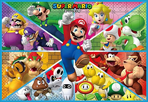 35 piece children's jigsaw puzzle exciting! Super Mario picture puzzle Childrens Jigsaw Puzzle