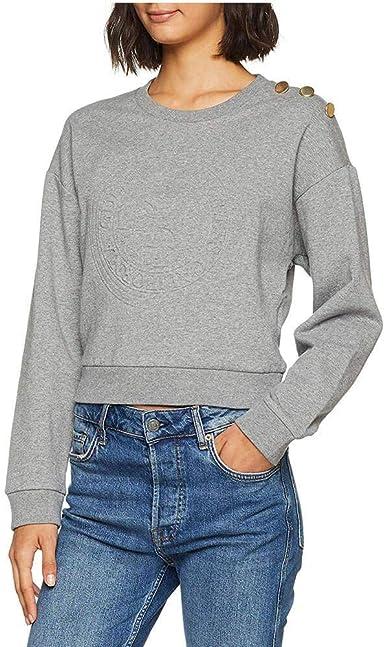 Guess Sweat à Capuche Slim Femme XL: