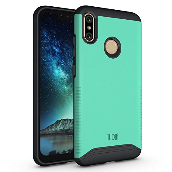 wholesale dealer 67e21 43028 BLU VIVO XI+ Case, TUDIA Slim-Fit Heavy Duty [Merge] Extreme  Protection/Rugged but Slim Dual Layer Case for BLU VIVO XI+ [NOT Compatible  with VIVO ...