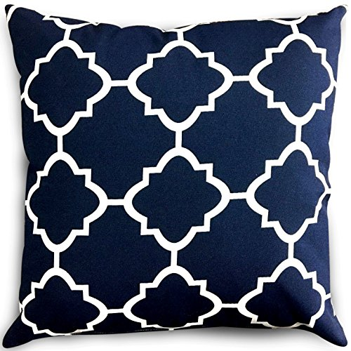 Decorative Pillows Moroccan Quatrefoil Lattice