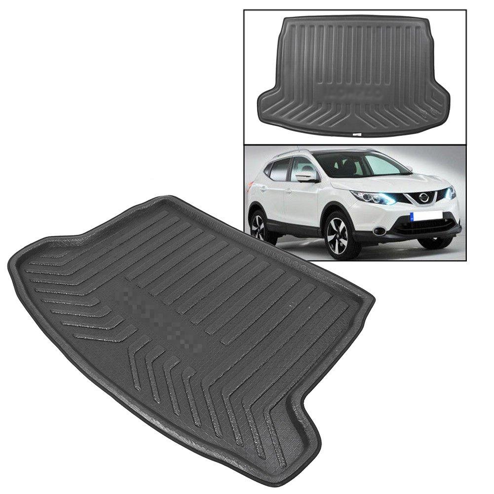 Beautylady Rear Trunk Cargo Cover Boot Mat Liner Floor Carpet for Nissan Qashqai J11 2014-2018 Second Generation
