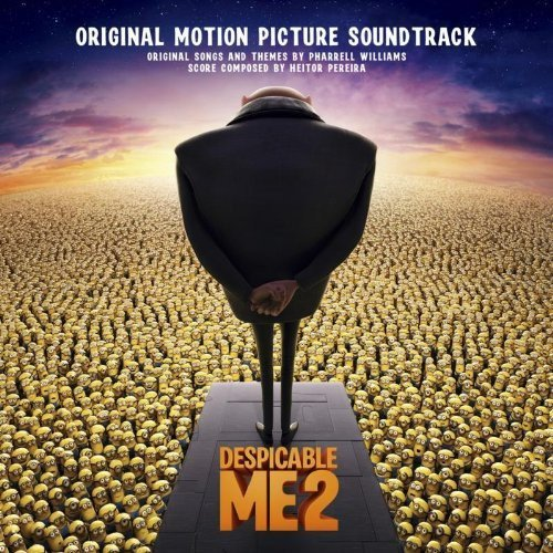 CD : Soundtrack - Despicable Me 2 (CD)