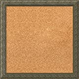 Framed Cork Board, Choose Your Custom Size, Barcelona Champagne Wood