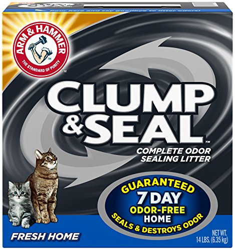 Arm & Hammer Clump & Seal Fresh Home Litter, Size: 14 Pound