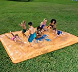 Nicedealword Water Sprinkler Spray Mat Inflatable Kiddie Pool Toy Outdoor Game for Children Fun Play