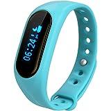 Cubot V1 - Ajustable Smartwatch Pulsera de Actividad (Impermeable, Bluetooth 4.0, Podómetro, Monitor de Sueño, Caloría, Anti-perdida, para Smartphone Android IOS Cubot Note S Rainbow Dinosaur Cheetah)