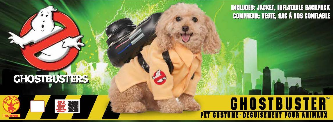 Rubie's Ghostbusters Movie Pet Costume, Large, Ghostbuster Jumpsuit by Rubie's (Image #5)
