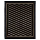 Pinnacle Frames and Accents Black Diamond 440-Pocket Ring Bound Photo Album