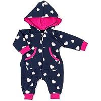 Baby Sweets Strampler/Overall mit Kapuze für Mädchen und Jungen Verschiedene Größen