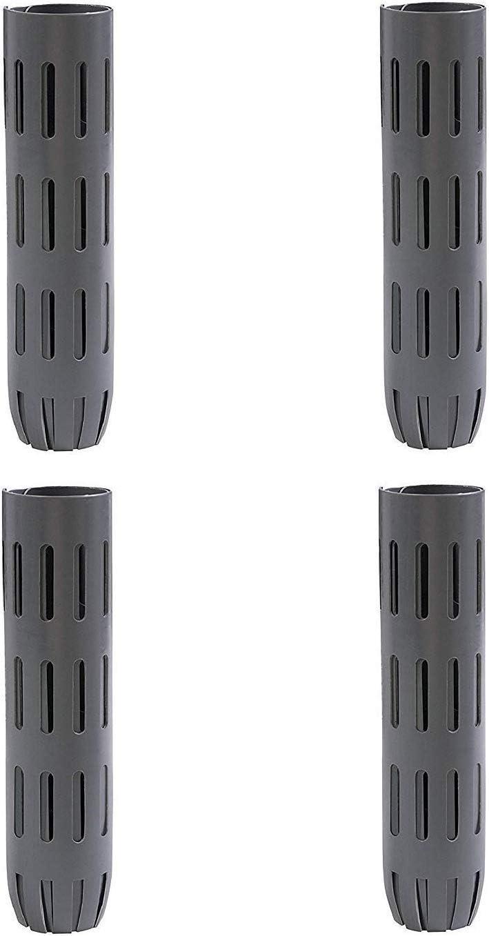 Dimex EasyFlex Plastic Tree Trunk Protectors, 6 Count, Grey 1131-6C Pack of 4