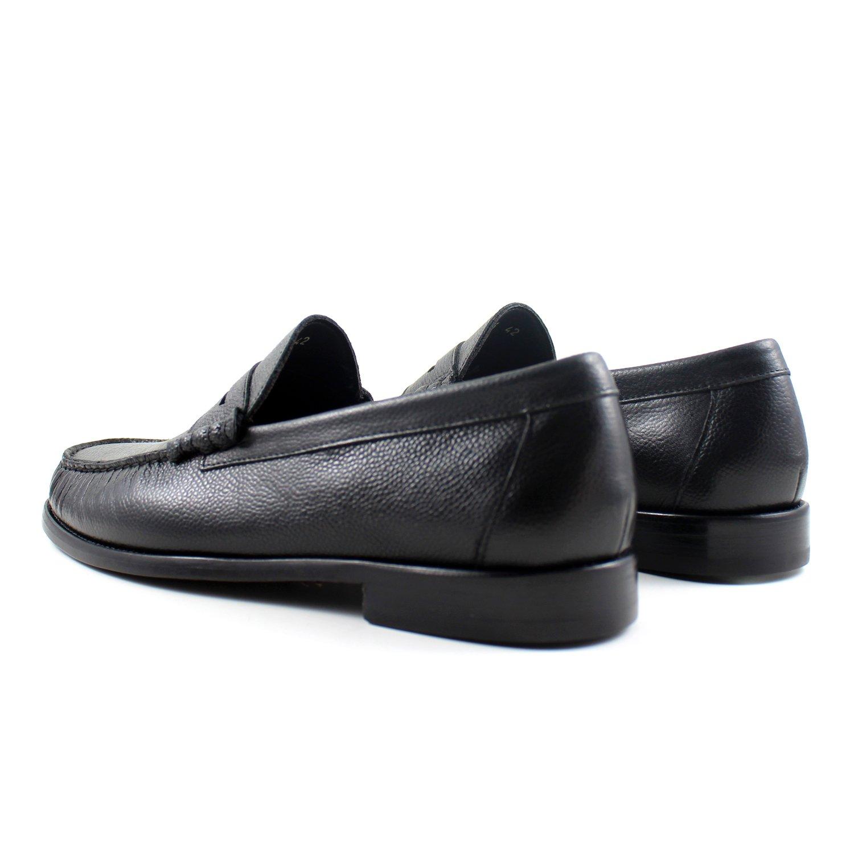 9f0d6a01ab5361 GIORGIO REA Chaussures Homme Noir Mocassins Mâle Main Italiennes, Cuir,  Élégant, Classique, Oxford Classic Shoes