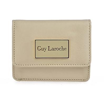 Monedero de mujer Guy Laoche 6756 (Color Amarillo): Amazon ...