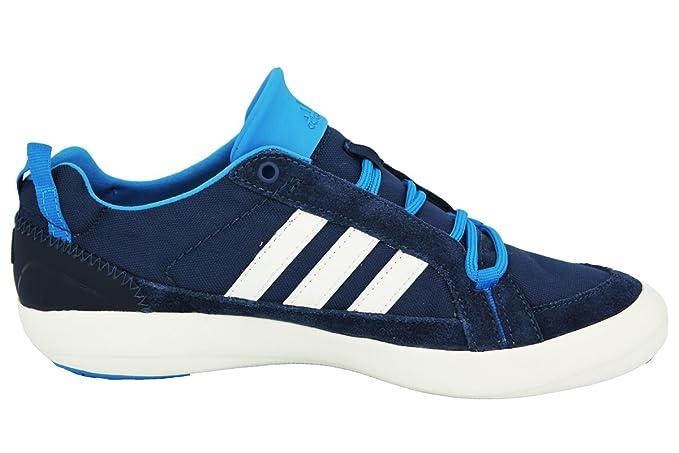 adidas Originals BOAT LACE DLX Blau Herren Outdoor Sport Schuhe Traxion Neu