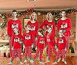 Family Matching Christmas Pajamas For Boys Girls