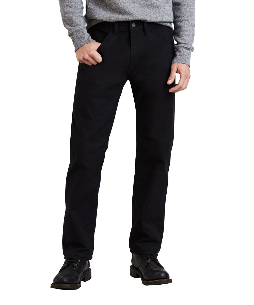 Levi's PANTS メンズ B07D628H7N 40W x 34L|Black Canvas/Stretch Black Canvas/Stretch 40W x 34L