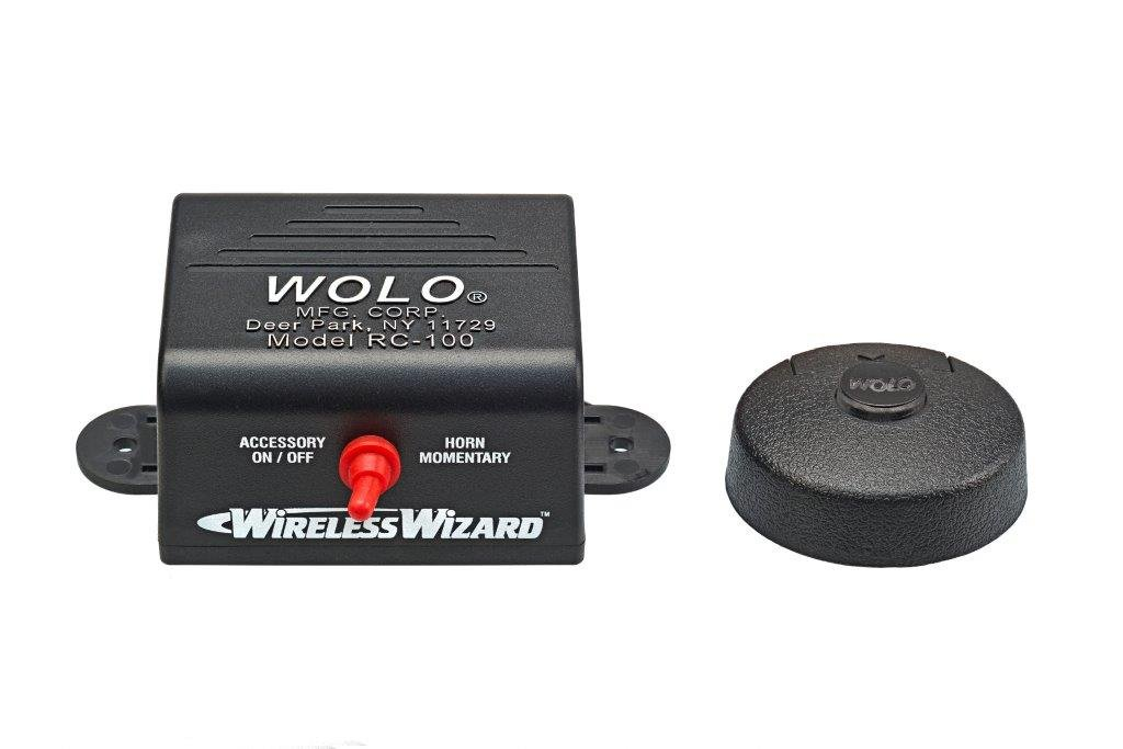 Wolo (RC-100) Wireless Wizard Univeral Remote Control System WOLQG