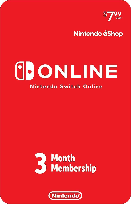 Amazon.com: Nintendo Switch Online 3-Month Individual ...