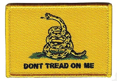 Hook Yellow Don't Tread on Me 2A Tactical Bag Cap Morale Gea
