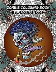Zombie Coloring Book: For Everyone, Practice for Stress Relief & Relaxation, Adults, Teenagers, Tweens, Older Kids, Boys, & Girls
