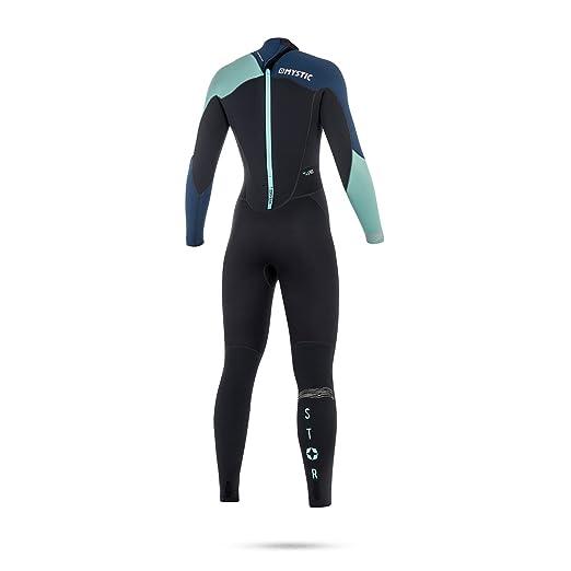 2018 Mystic Women Star 5/4mm Back Zip Wetsuit NAVY 180029 ...