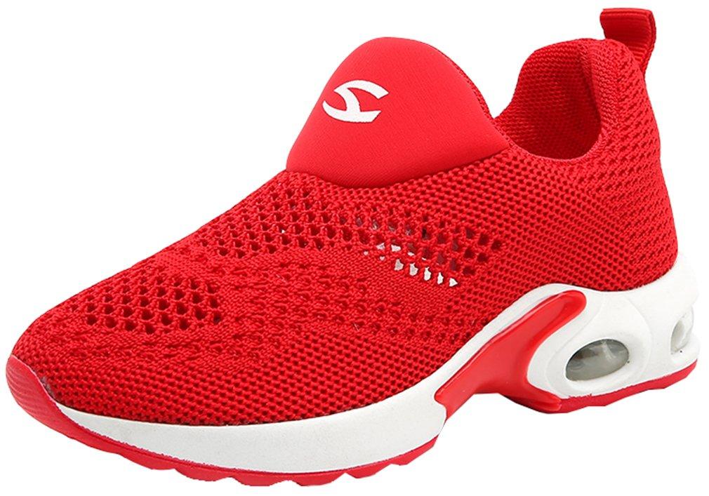 VECJUNIA Boy's Girl's Low Top Mesh Slip-On Non-Slip Outdoor Sneaker Travel Shoes