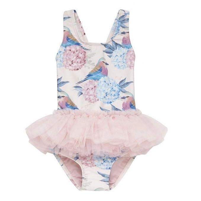 Amazon.com: MIKI SHOP - Bañador de verano para bebés y niñas ...