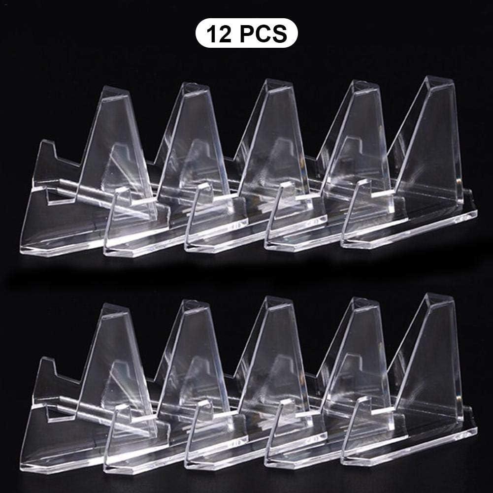 Acrylique Clair Air-Tite Pièce Présentoir chevalets Pack de 10