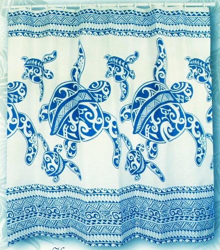 Charming Amazon.com: Hawaiian Fabric Shower Curtain (Honu Turtle Family): Home U0026  Kitchen