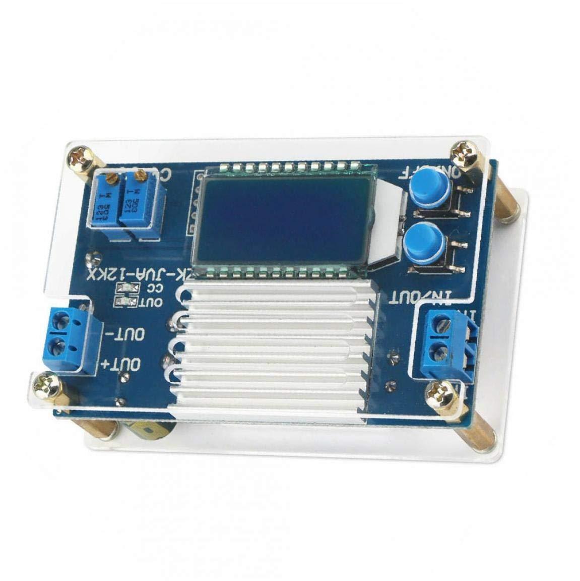 Módulo de alimentación de tensión ajustable Consejo Regulador LED Buck convertidor 12A voltios transformador reductor