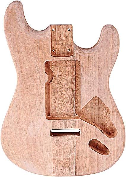 Supvox Accesorio de guitarra sin pintar de bricolaje sin guitarra ...