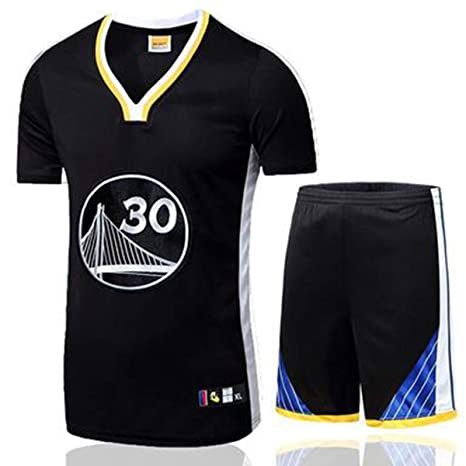 T-SHIRT Conjunto De Camiseta De Hombre NBA Fan Jersey Golden ...