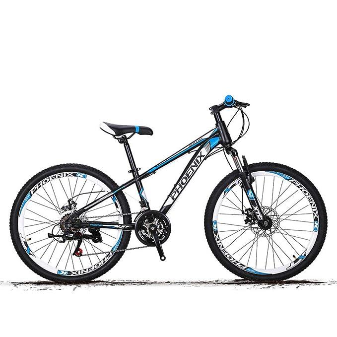 XYANG BK - Bicicleta de montaña de 21 velocidades, ruedas de 24 pulgadas, plegable, para adultos, hombres y mujeres, para bicicleta de carrera, plegable, ...