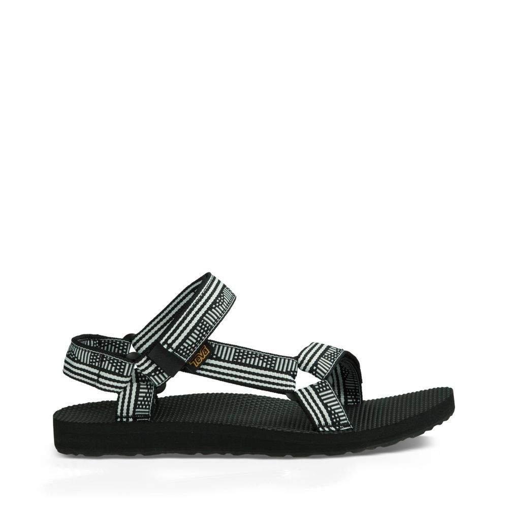 Teva Women's W Original Universal Sandal, Campo Black/White, 11 M US