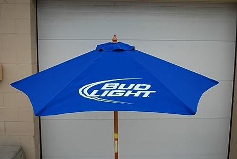 Bud Light Beer 7u0027 FT Patio Umbrella