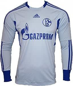 adidas Camiseta de Portero del FC Schalke 04 para niños, Infantil, Color Azul, tamaño 164: Amazon.es: Deportes y aire libre