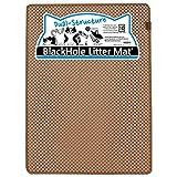 BlackHole Litter Mat Blackhole Cat Litter Mat - Extra-Large Size Rectangular 36