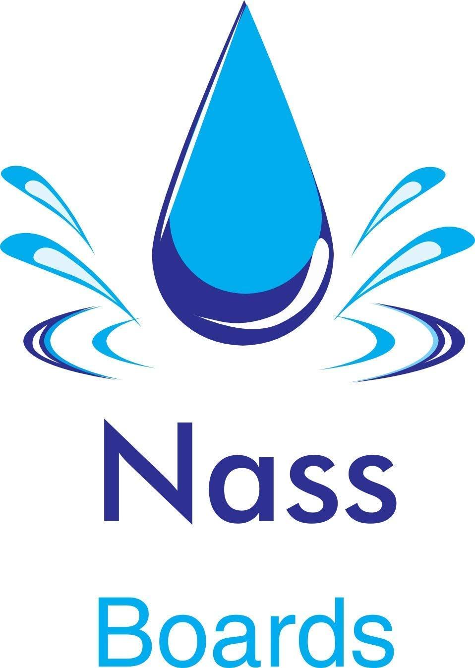 18m2 Nassboards XPS Boards Floor Underlay Thermal Insulation Underfloor Heating 25 x 10mm