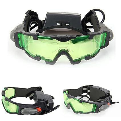 Amazon.com: Lente verde ajustable anteojos de visión ...