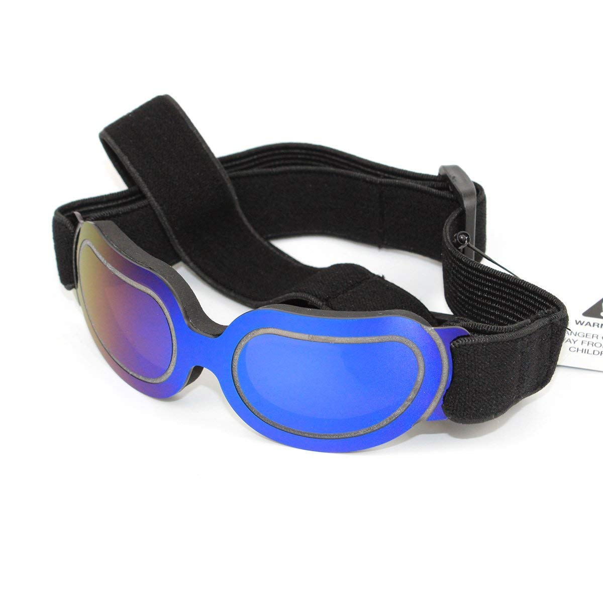 Futureyun Small Dog Sunglasses Dog Goggles for UV Protection Sunglasses Windproof with Adjustable band for Puppy Doggy Cat