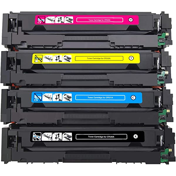 Printing Pleasure Compatible CF530A 205A Cartucho de tóner para HP ...