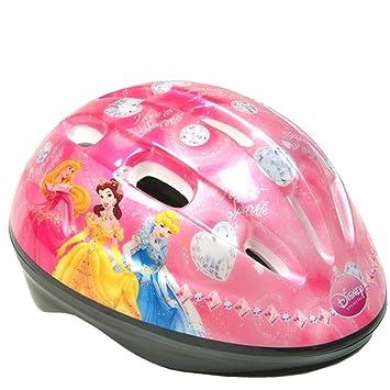 Toimsa 10826-Casco de bicicleta para niña, diseño de princesas ...
