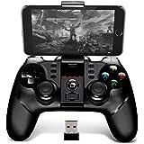 BINDEN Control Inalámbrico OverlordB6 PG-9076 para Smartphone, PS3, Tablet, Emulador, Windows, Función Turbo, 12 Horas de Jue