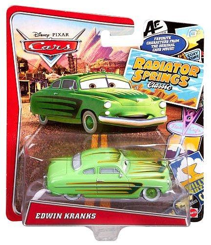 Disney/Pixar Cars, Radiator Springs Classic, Edwin Kranks Exclusive Die-Cast Vehicle, 1:55 Scale